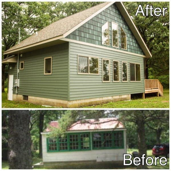 Cabin-Before-and-After