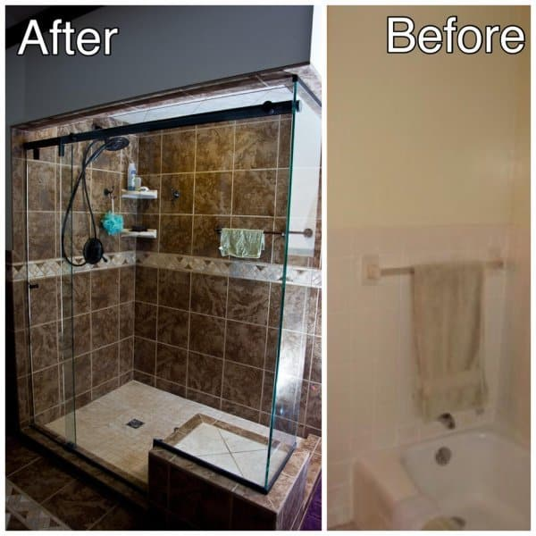 Shower-Before-and-After
