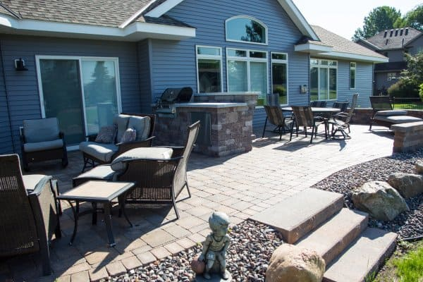 Custom Built Patio House Sartell MN