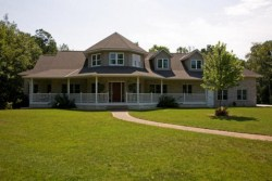 Southern Style Home Front