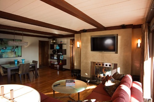 Remodeled Living Room by St Cloud, MN Builder Schoenberg Construction