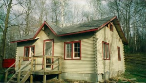 MN Cabin Before Remodeling