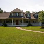 Southern-Influenced Custom Home