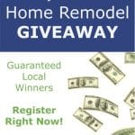 Remodeling Giveaway March 2013 Promotion