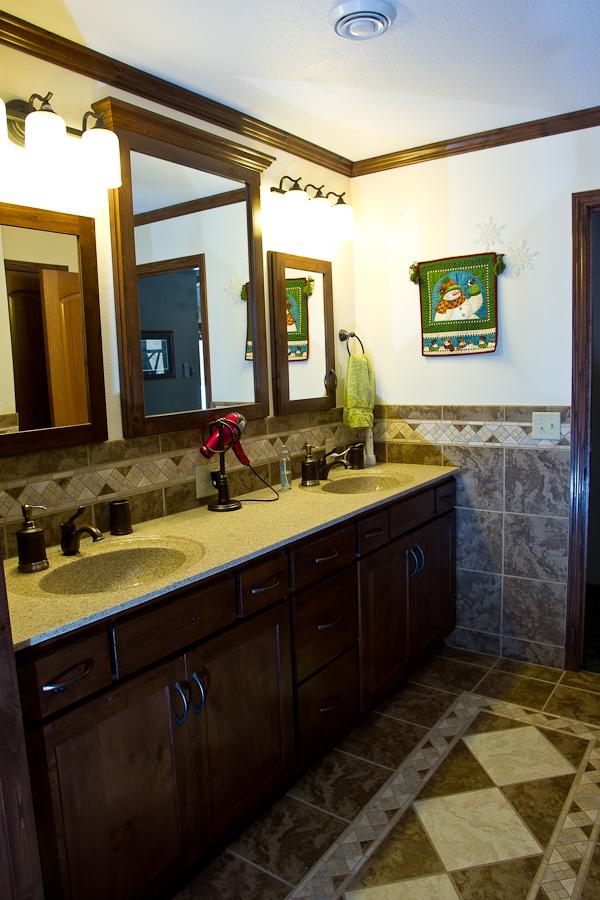 Custom Master Bathroom (AFTER)