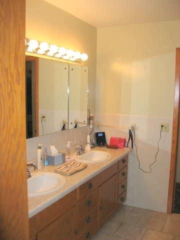Custom Master Bathroom (BEFORE)