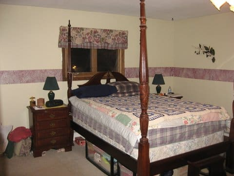 Master Bedroom Renovation Before
