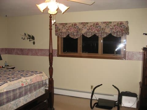 Master Bedroom Renovation Before Picture