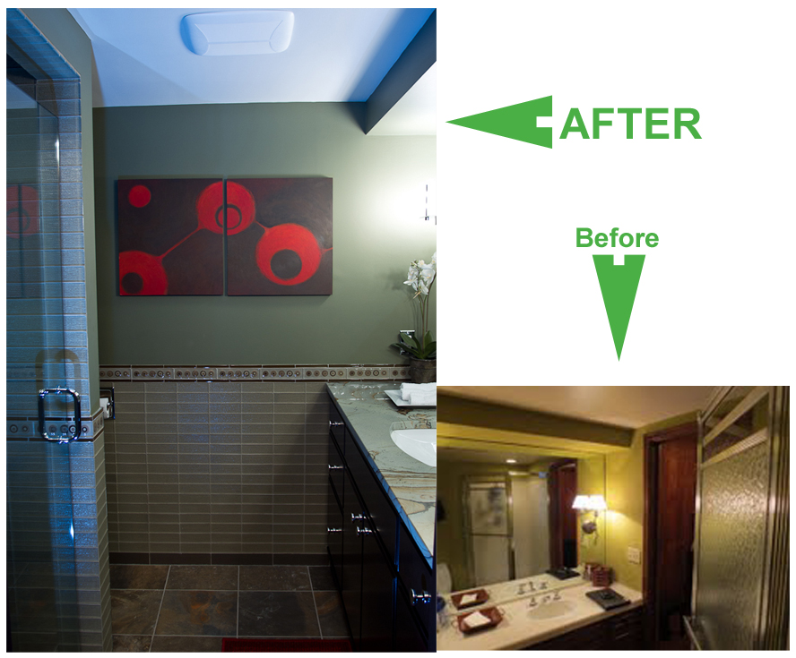 Bath Remodel Pictures Before and After Pic 2