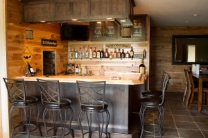 Basement Bar Ideas St Cloud MN Schoenberg Construction Inc