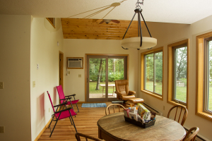 Sartell Cabin Living Room