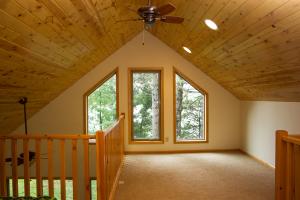 Sartell Minnesota Cabin Remodel Loft