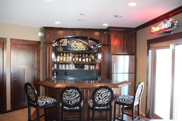 Custom Bar Cabinets2