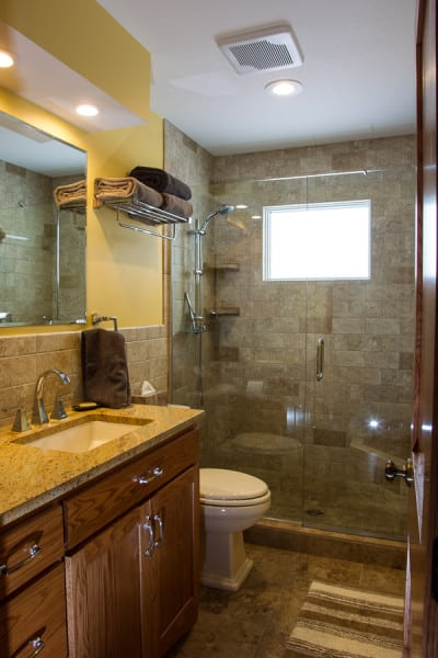 AFTER Remodeling PIcture #1, Sauk Rapids MN Bath