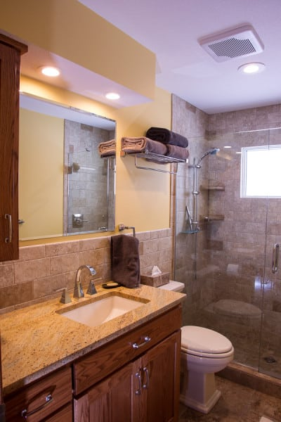 AFTER Remodeling PIcture #2, Sauk Rapids MN Bathroom