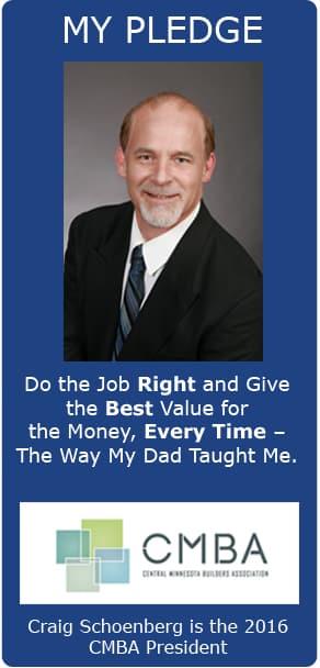 Craig Schoenberg Pledge