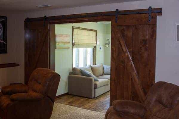Sliding Doors Addition Entrance