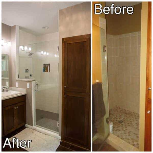 Glass Shower Remodel
