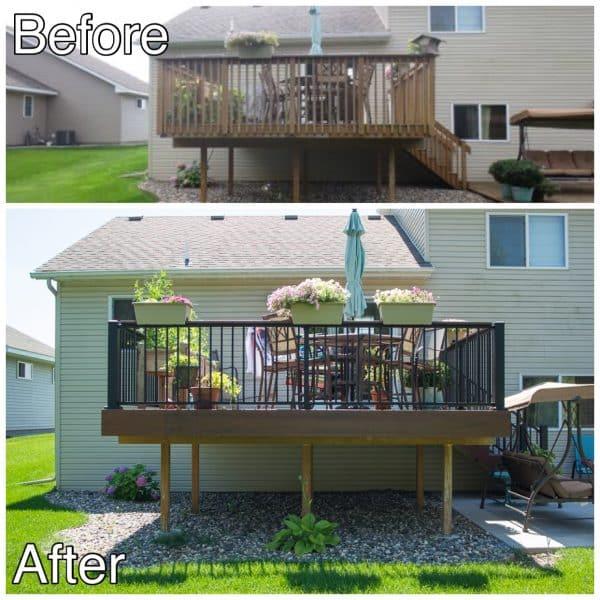 Deck Replacement Project Sauk Rapids MN