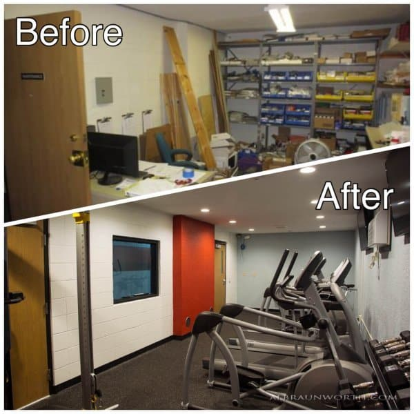 College Living Light Commercial Remodeling St Cloud MN Before and After Photos