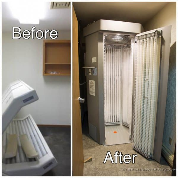 Light Commercial Interior Remodel Project St Cloud Minnesota Before and After Photos