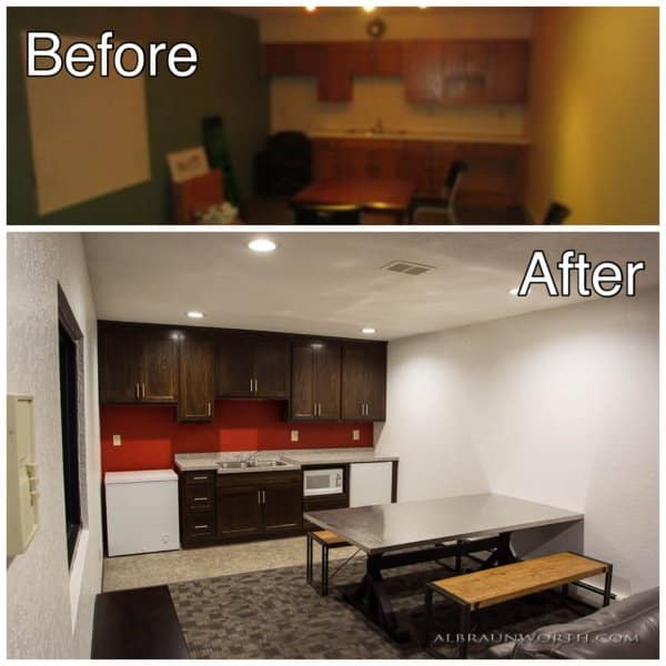 Light Commercial Interior Remodel Project St Cloud MinnesotaBefore and After Photos
