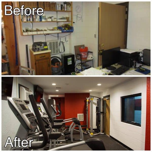 Light Commercial Remodel Project St Cloud MN Before and After Photos