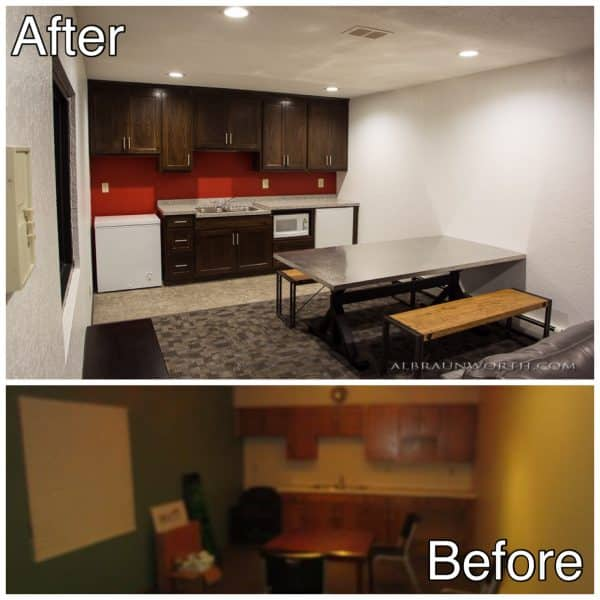 Light Commercial Interior Remodeling Project St Cloud MN Before and After Photos
