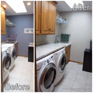8 - Laundry before and after