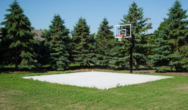 Patio Home Basketball Court, Sartell MN