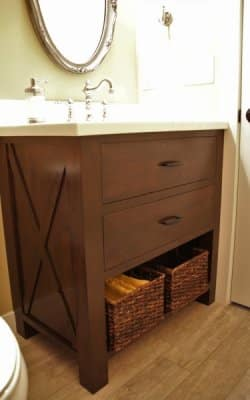 Patio House Bathroom cabinet, Sartell MN
