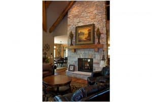 Sartell Custom Home Fireplace
