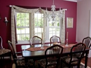 Southern Style Home Dining Room