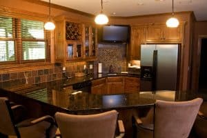 Sartell Custom Home Wet Bar