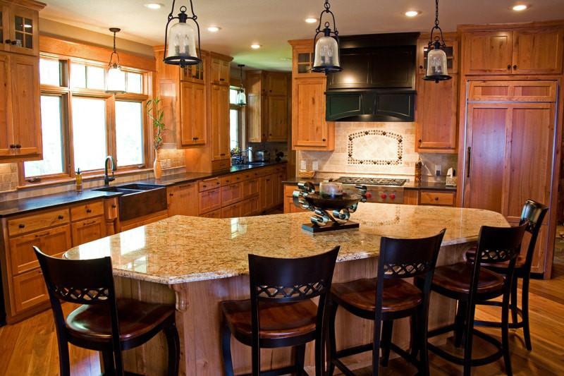 Sartell Custom Home Kitchen