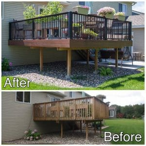 Custom Decking Sauk Rapids MN