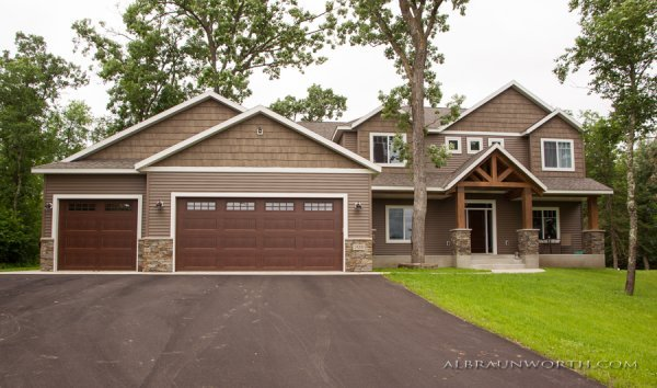 Custom Built Home by St Cloud General Contractor