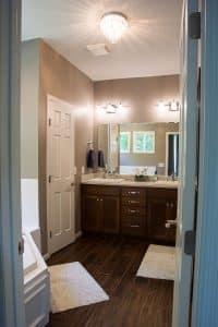 Bathroom After with tub
