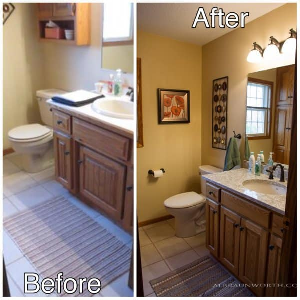 Bath Remodeling before and after