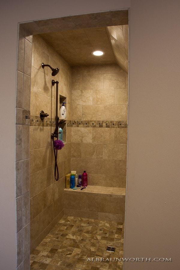 Custom Shower after