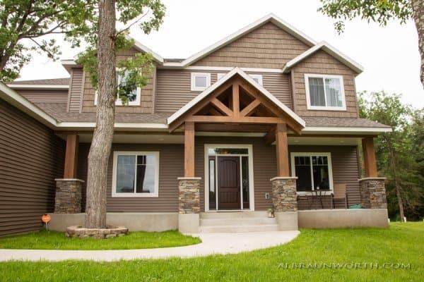 Custom New Home Exterior