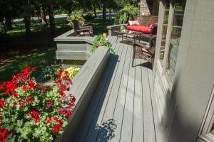 Low Maintenance Deck Installed by Schoenberg Construction, Inc of Saint Cloud Minnesota