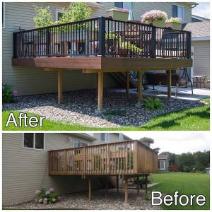 Deck Replacement Sauk Rapids MN