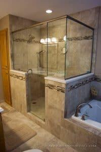 Master Bath After walk In shower