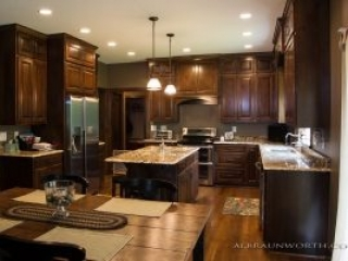 New Home with Custom Kitchen