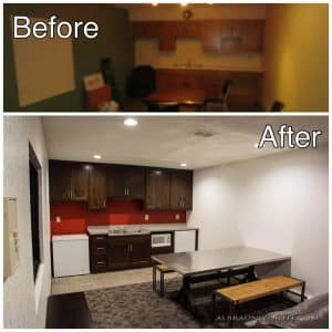 Light Commercial Remodeling before and after photos