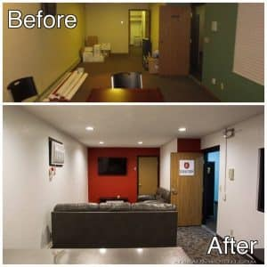 Light Commercial Interior Remodeling St cloud Mn