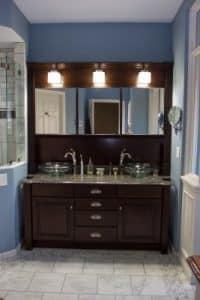 Bath remodel after vanity