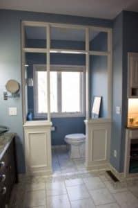 Bathroom remodel stool