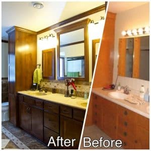 Master Bath New Cabinetry Sauk Rapids MN